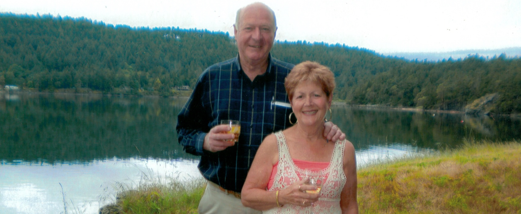 Alma Lightbody and Mack Foster owners of Ainsliepoint Cottage | Pender Island | Gulf Islands